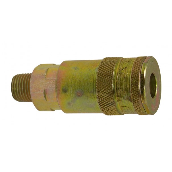 "PCL Male Threaded 1/4"" BSP Air Coupling - AC01"