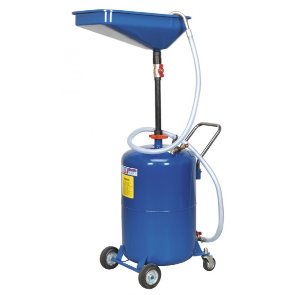 Sealey Waste Oil Drainer 65ltr Air Discharge - AK451DX