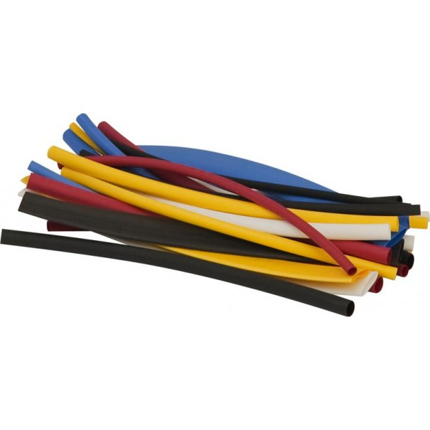 Heat Shrink Tubing Packet Assortment (Pack of 30 Pieces) - AP33