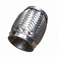 100mm Length x 54mm Bore I.d Interlock Flexible Pipe - C10054I