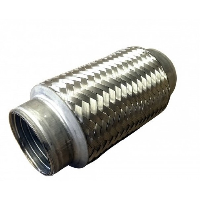 150mm Length x 42mm Bore I.d Interlock Flexible Pipe - C15042I