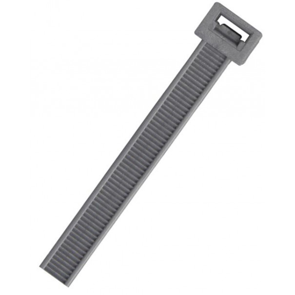 Cable Ties 370mm x 4.8mm Silver/Grey Cable Ties 100 Pack - CT1S