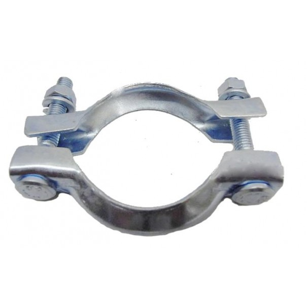 "72mm Two Piece ""French"" Exhaust Manifold Clamp PGP55 - ECMC72"