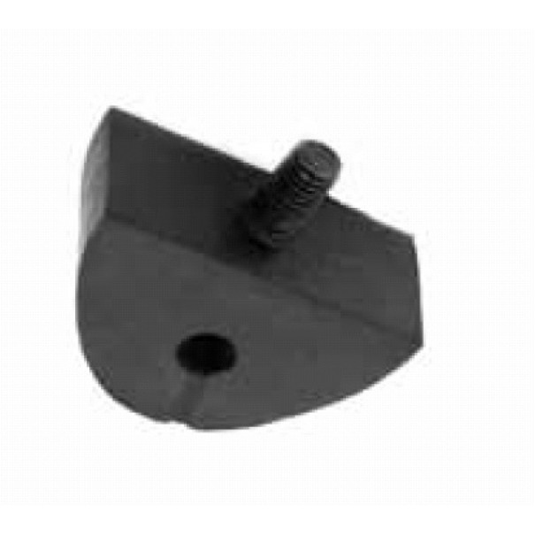 "BLT6 / 255-043 Universal ""D"" Exhaust Mounting Rubber With Thread - ESM45"