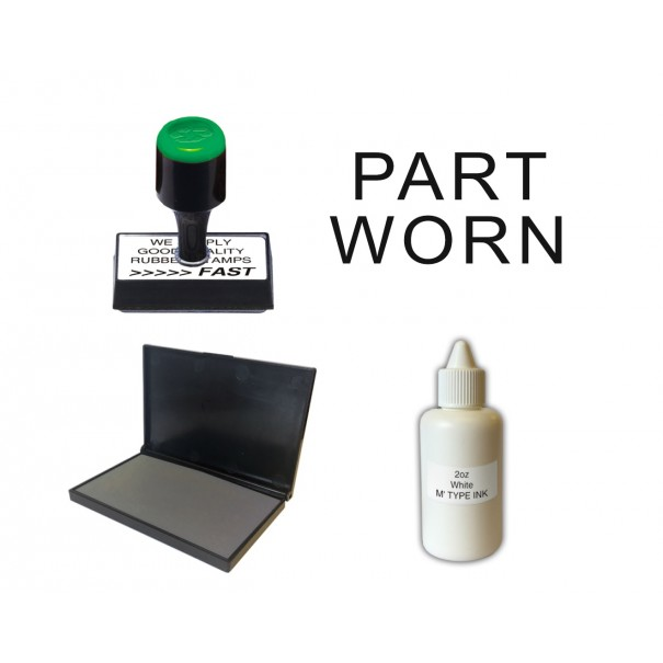 Part Worn Tyre Stamp Kit - ETP35
