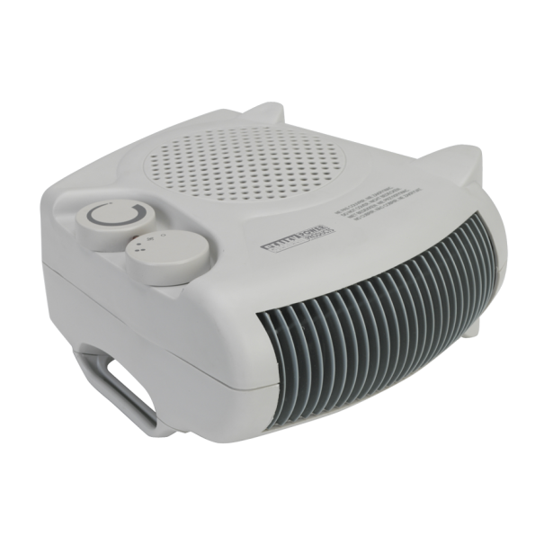 Sealey Fan Heater 2000W 2 Heat Settings with Thermostat - FH2010
