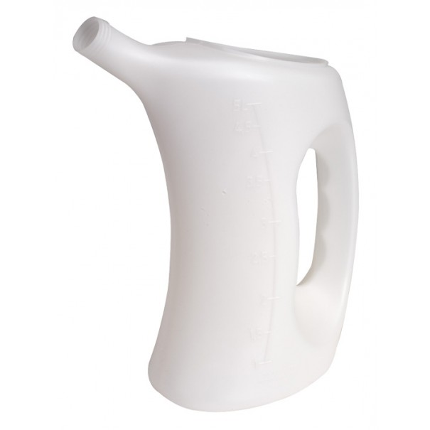 Sealey Measuring Jug with Rigid Spout 5ltr - J5