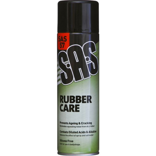 S.A.S Rubber Care Silicone Free 500ml (Pack of 6) - SAS57