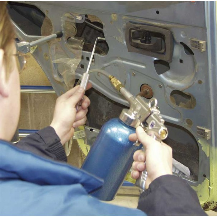 Sealey Air Operated Wax Injector Kit - SG18