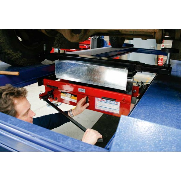Sealey Jacking Beam 2tonne with Arm Extenders & Flat Roller Supports - SJBEX200