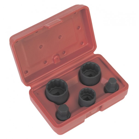 Sealey Impact Hub Socket & Socket Bit Set 5pc - VAG - SX053