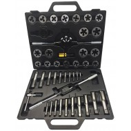 45-Piece Tap + Die Set M6-M24 - WW1902