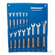 Fixed Head Ratchet Spanner Set 14pce