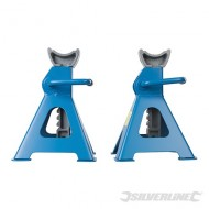 Axle Stands 3tonne Capacity per Stand 6tonne per Pair Ratchet Type - 763620