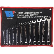 12-Piece Combination Spanner Set 8-19 mm - WW8031