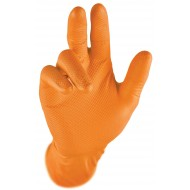 GRIPSTER 'Skins' Orange Grip Gloves
