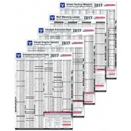 NEW 5-Pack of Wall Charts 2017 - ADC3