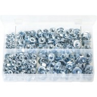 Serrated Flange Nuts - Metric (330 Pieces) - AB104N