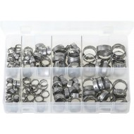 OETIKER '167' O-Clips - Single Ear Clamps (160 Pieces) - AB144