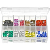 Standard Blade Fuses with Fuse Holders (105 Pieces) - AB164