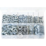 Flat Washers 'Form A' - Metric (800 Pieces) - AB76N