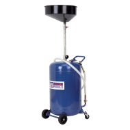 Sealey Mobile Oil Drainer 90ltr Air Discharge - AK458DX
