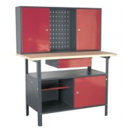 Workstation 1.2mtr with Drawer & Cupboards - AP2060