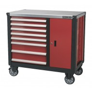Mobile Workstation 8 Drawer with Ball Bearing Runners - AP2418
