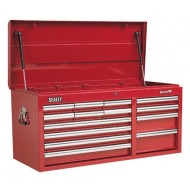 Topchest 14 Drawer with Ball Bearing Runners Heavy-Duty - Red - AP41149