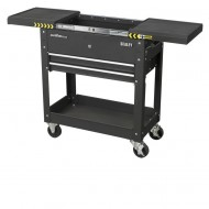 Sealey BLACK WORKSHOP TOOL TROLLEY ROLLING CART TOOL STORAGE AP705MB 100KG - AP705MB