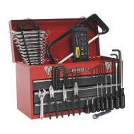 3 Drawer Portable Tool Chest With 74 Piece Tool Kit - AP9243BBCOMBO