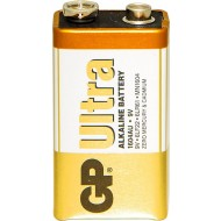 GP Batteries Alkaline 9V (1604A/PP3) (Box of 10 x 1) - BAT9
