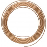 "3/16"" Copper Brake Pipe Tubing 25ft Coil - BP11A"