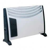 Convector Heater 2000W 3 Heat Settings Thermostat Turbo Fan - CD2005T