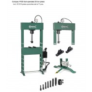 COMPAC FP25 FOOT OPERATED 25 TON PRESS AND PUNCH SET - COMFP25