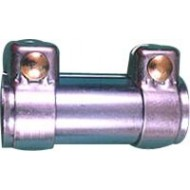 60/64mm Close/Open I.d x 90mm Length Exhaust Pipe Connector - CPC10