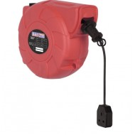 Cable Reel System Retractable 25mtr 1 x 230V Socket - CRM251
