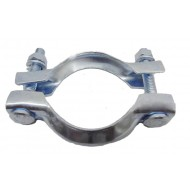 "66mm Two Piece ""French"" Exhaust Manifold Clamp CNP5 / CNP7 - ECMC66"