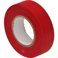 PVC Insulation Tape 19mm Red 20m (Pack of 10) - EPT14