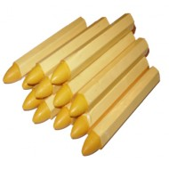 Yellow Tyre Marking Chalk 12 Pack - ETP21