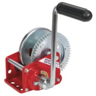 Geared Hand Winch with Brake 540kg Capacity - GWE1200B