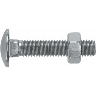 Coach Bolts and Nuts M8 x 75 (Pack of 50 Pairs) - HCS4