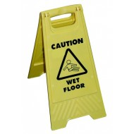 Caution Wet Floor Sign - HKS77