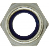 Nylon Lock Nuts M8 (Pack of 100) - HNN22
