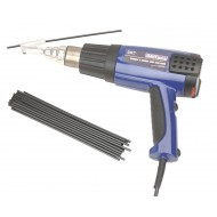 Sealey Plastic Welding Kit Inc Hot Air Gun - HS102K
