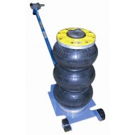 HUSTERH3 Selson 3 Bag 2.5 Tonne Air Jack With Handle - HUSTLERH3