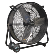 "Industrial High Velocity Drum Fan 24"" 230V - HVD24"