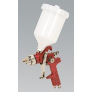 HVLP Gravity Feed Spray Gun 1.3mm Set-Up - HVLP741