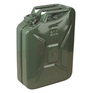 Sealey Jerry Can 20ltr - Green - JC20G