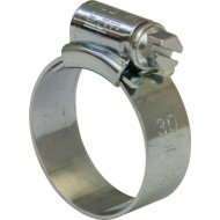 JCS Hi-Grip Hose Clips Zinc Size 12 (Pack of 30) - JCS000